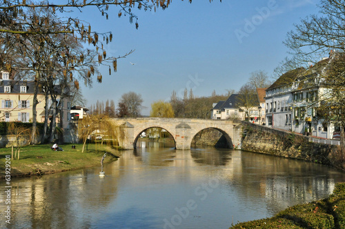 Val d Oise, picturesque city of L Isle Adam
