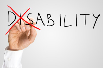 Overcoming a disability