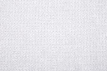 White nonwoven fabric texture background