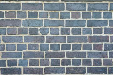 Grey brick wall texture