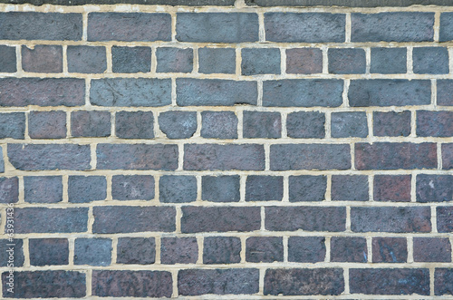 Grey brick wall texture