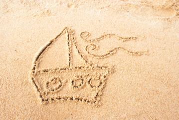 Barco de arena III