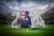 Composite image of australia world cup 2014