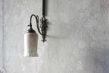 Wandlampe, nostalgisch