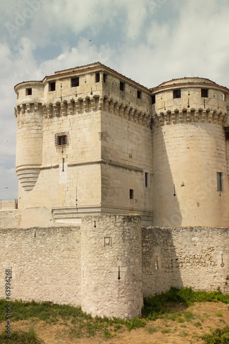 canvas print picture CASTILLO DUQUES DE ALBUQUERQUE