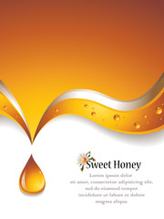 Sweet Honey Background