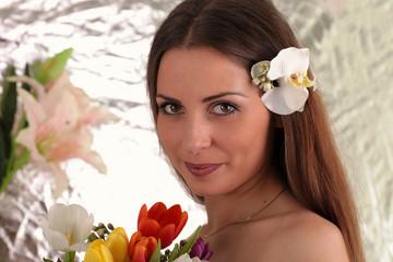 Eine junge Braut