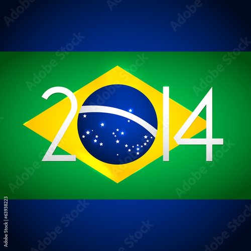FIFA 2014 Brasil - World Cup, vector poster