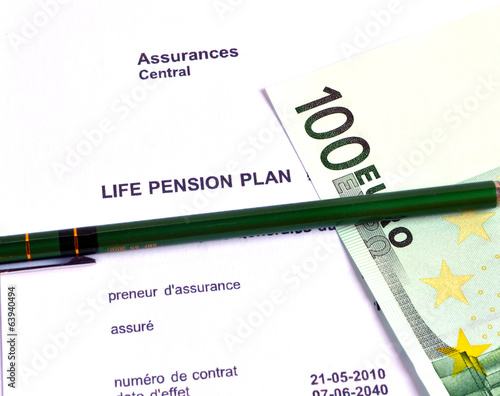Pension retrait