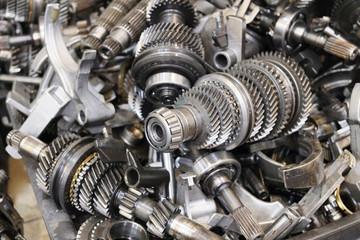transmission steel gear boxes