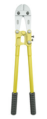 Yellow bolt cutter, 3D render