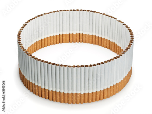 Protection from vertical cigarettes