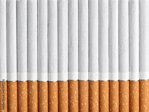 Background from a number of cigarettes