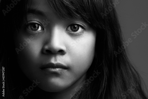 Poster Little asian girl