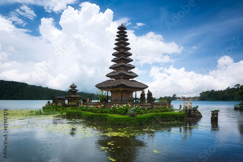 Temple Pura Ulun Danu, Bali, Indonésie