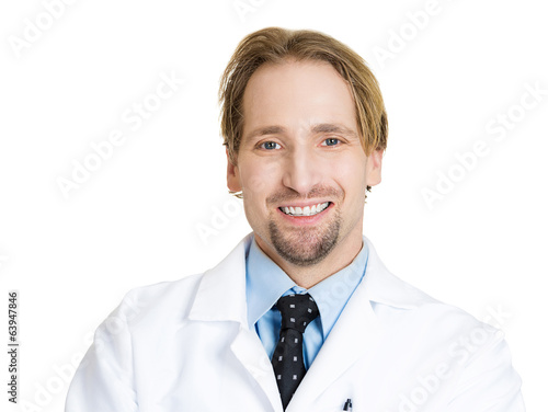 Headshot of confident, happy healthcare professional