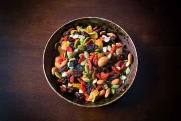 healthy nuts mix