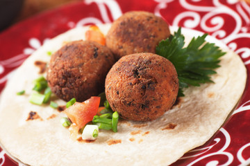Falafel, middle eastern classic food
