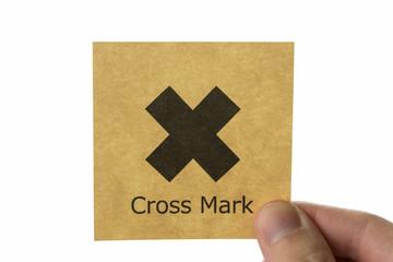 バツ アイコン cross mark