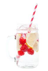 Sparkling Raspberry Lemon Water