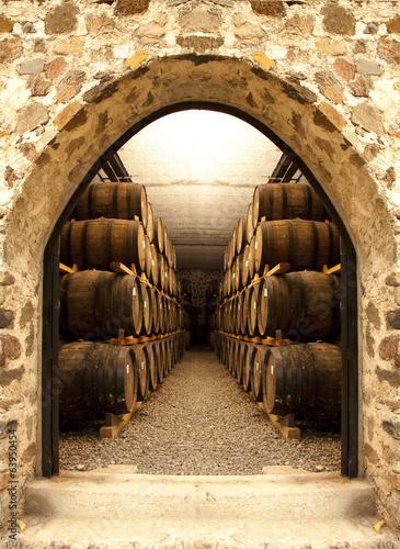 Wine barrels - 63950454
