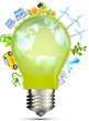 Bulb green energy World