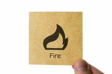 火 アイコン fire