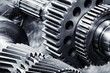 titanium aerospace gears and cogwheels - 63952098