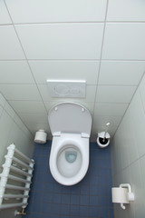 toilet- top view