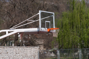 Outdoor Public Basketball Court