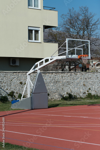 Outdoor Public Basketball Court