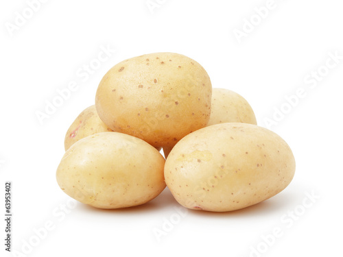 heap of baby potatoes