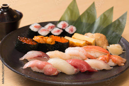 Authentic and traditional Japanese sushi