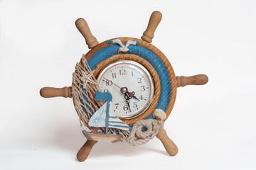 Pendule en décoration marine