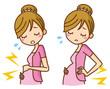 妊婦 腰痛 腹痛