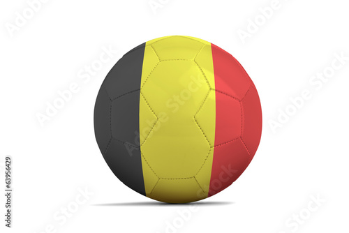 Soccer balls with teams flags, Brazil 2014. Group H, Belgium