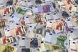 Euro sfondo banconote_001