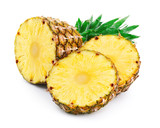 Pineapple with slices