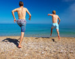 Summer active life concept
