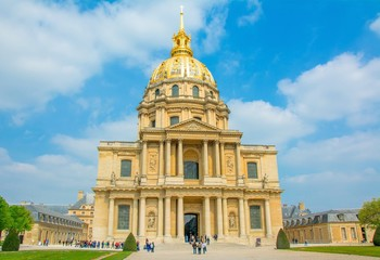 Hôtel des Invalides à Paris en France