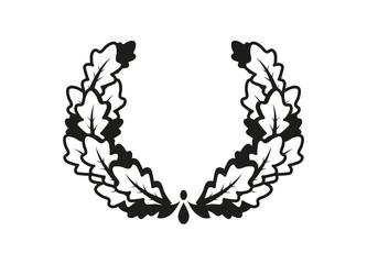 Eichenblätter Kranz