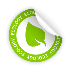 vector ecology bent sticker