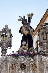 Christ, holy week in Sevilla, Spain.