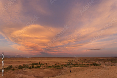 Ozn clouds in Morocco