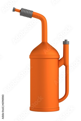 realistic 3d render of gas can