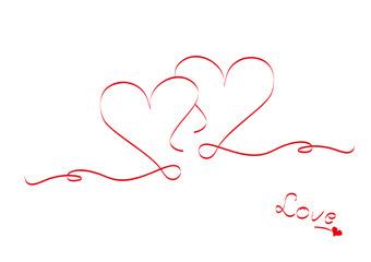 Zwei Herzen Ineinander Tattoos