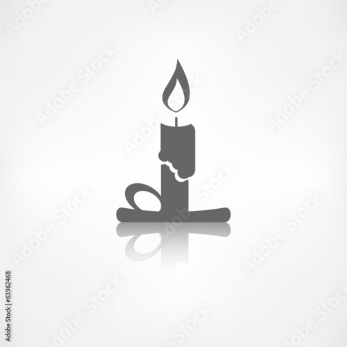 Candle web icon