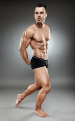Bodybuilder full length