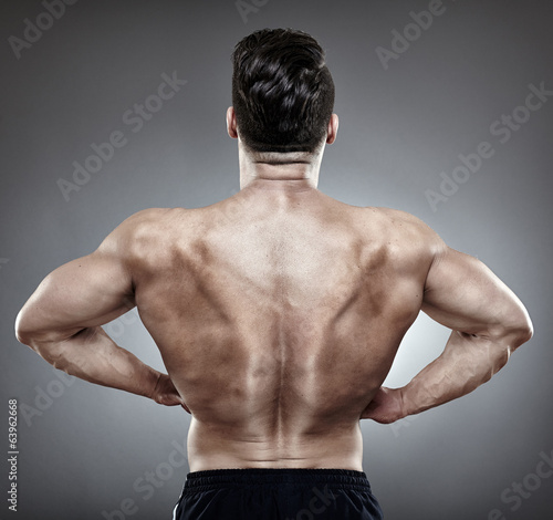 Bodybuilder back