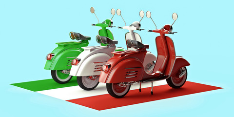 Italian scooters